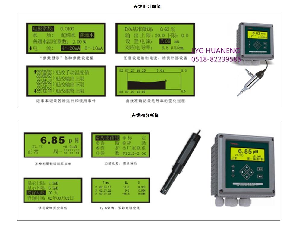 电导率、PH值