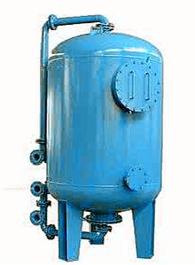 海绵铁除氧器图片